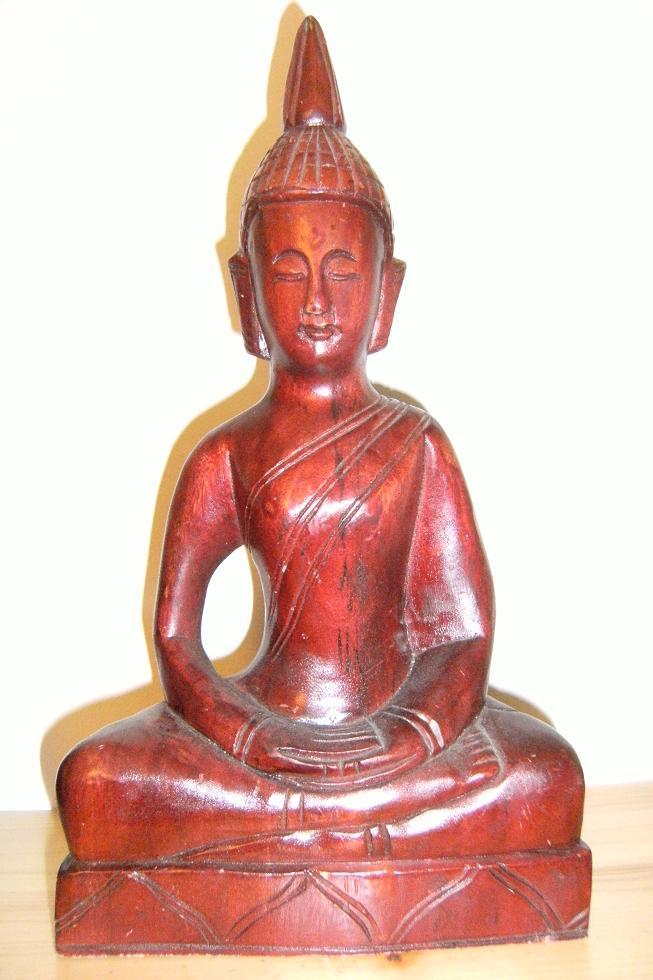Buddha figuren aus holz for Buddha statue holz